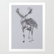 The Peryton Art Print