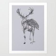 The Peryton Art Print