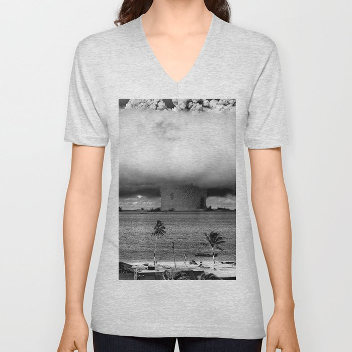 Operation Crossroads: Baker Explosion Unisex V-Neck