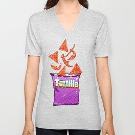 Hot Nachos: Junkies Collection Unisex V-Neck