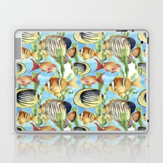 Underwater: tropic fish Laptop & iPad Skin