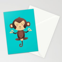 ChimpanZEN Stationery Cards