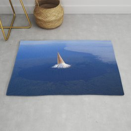 The 3 Second Rule - Ice-cream mountain Rug
