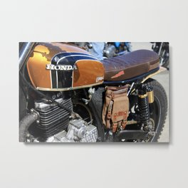 Honda Cafe Racer Metal Print