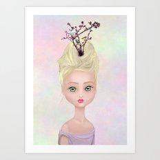 Spring Queen Art Print