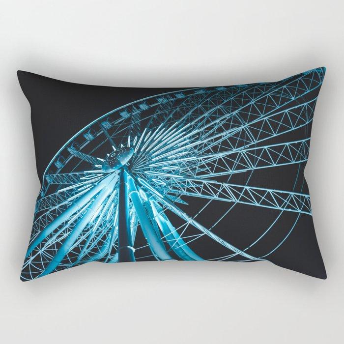 The Sky Wheel in Niagara Falls Rectangular Pillow