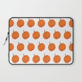Pumpkin Polka Dots Laptop Sleeve