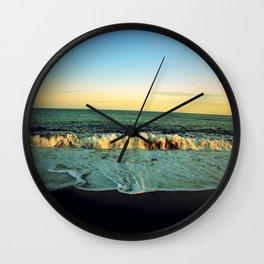 Tainted Shores Wall Clock