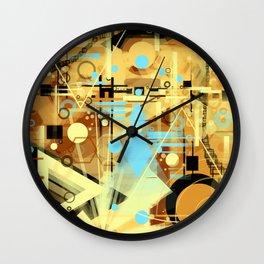 Time of Pyramids Wall Clock