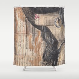 My Heart Stood Still Shower Curtain