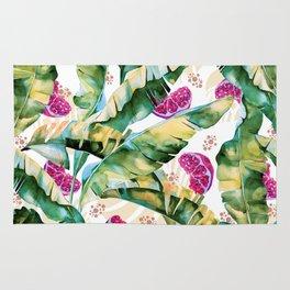 Banana leaf & Pomegranate II Rug