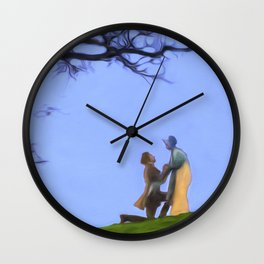 The Proposal Wall Clock