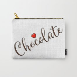 Chocolate Love Carry-All Pouch