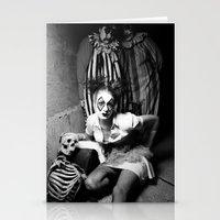 nurse Stationery Cards featuring Nurse & Clowns by Flashbax Twenty Three