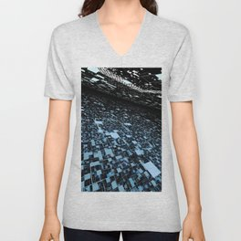 In 2048, nature will change to a digital intelligent world Unisex V-Neck