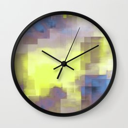 Misty Reflections In The City Wall Clock