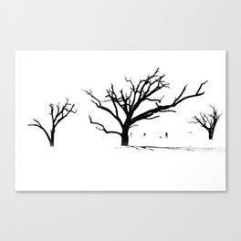 Ghost Trees of Boneyard Beach 01 Canvas Print