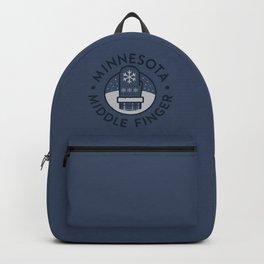 Minnesota Middle Finger Backpack