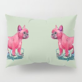 animals in chairs # 23 French Bull Dog Pillow Sham