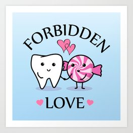 Forbidden Love Art Print