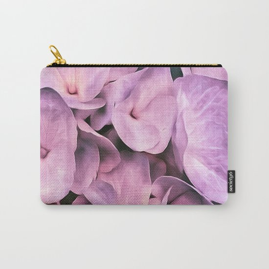 Hydrangea Beauty Pink Carry-All Pouch
