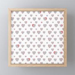 Made for you my heart 27 Framed Mini Art Print