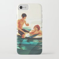 viria iPhone & iPod Cases featuring rinharu by viria