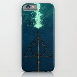 Deathly Hollows Expecto Patronum iPhone Case