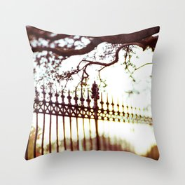 Autumn in New Orleans Throw Pillow