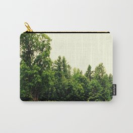 Lone Tree in a Golden Field Carry-All Pouch