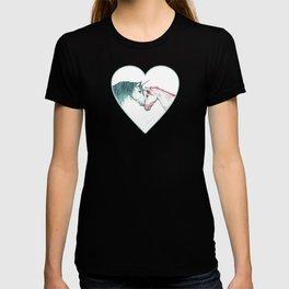 Unicorns in love <3 T-shirt
