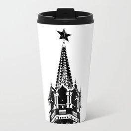 Kremlin Chimes-b&w Travel Mug