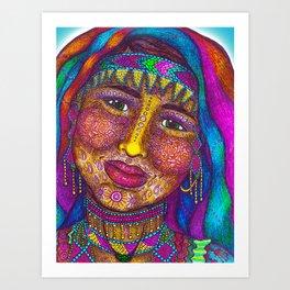 Wisdom Keeper Color #13 (Empathy) Art Print