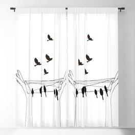 Cat's cradle Blackout Curtain