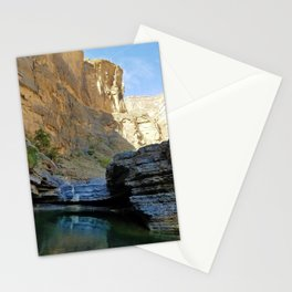 Wadi Canyon Colors Stationery Cards