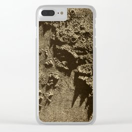 Astronomy for the Use of Schools and Academies (1882) - Lunar Landscape Clear iPhone Case