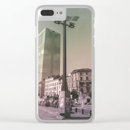 Surrealism City Clear iPhone Case