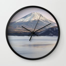 Mt Fuji & Lake Motosu Wall Clock