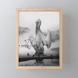 Sea Bird Free Bird Framed Mini Art Print