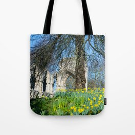Spring in Museum Gardens Tote Bag