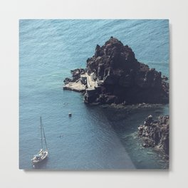 Santorini, Greece 25 Metal Print