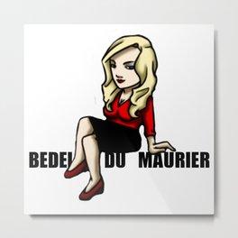 Bedelia Du Marier Metal Print