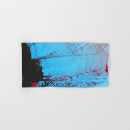 MEMORY MOSH - Glitch Art Print Hand & Bath Towel
