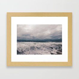 Wabasso Beach Waves 2 Framed Art Print