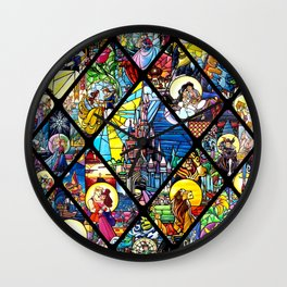 When You Wish Upon a Star Wall Clock
