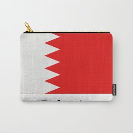 bahrain flag Carry-All Pouch