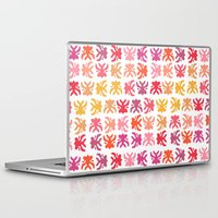swimming Laptop & iPad Skins featuring Swimming by Robin Gayl