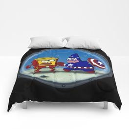 BARNACLE WAR Comforters