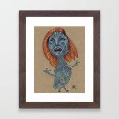 MYSTIQUE MAMBO Framed Art Print