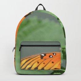 Gulf Fritillary on Lantana Backpack